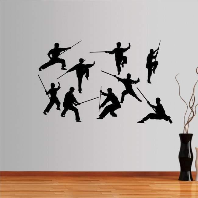 Αυτοκόλλητο τοίχου Συλλογή Kung Fu