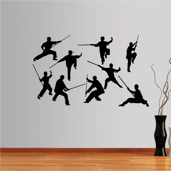 Wall stickers Kung Fu collection