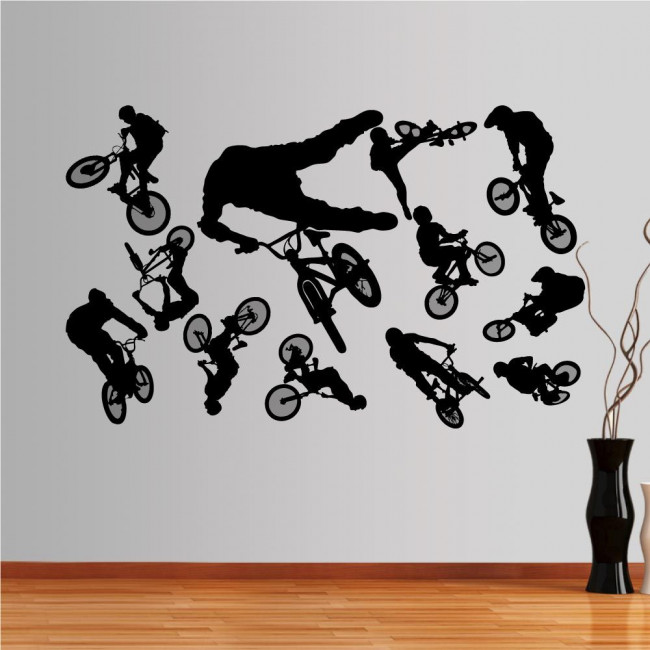Wall stickers BMX