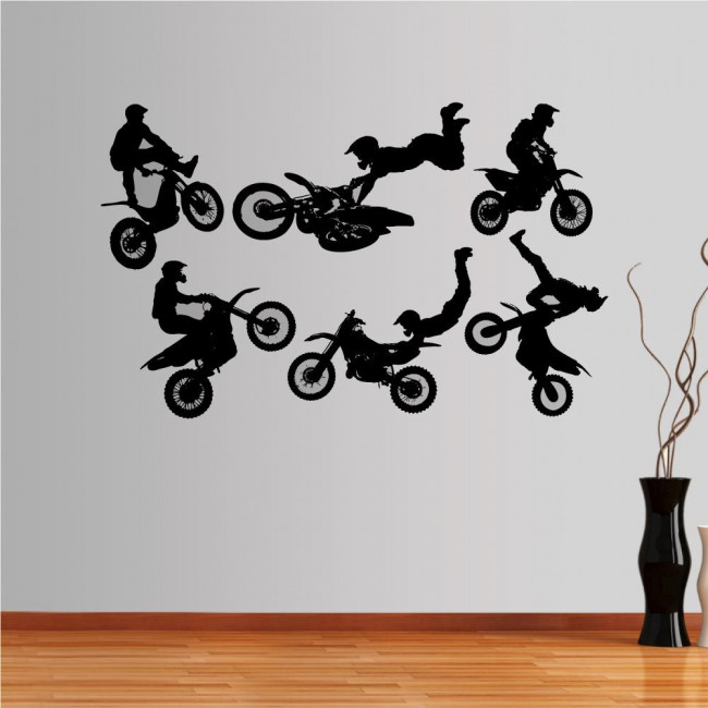 Wall stickers Figures moto 2