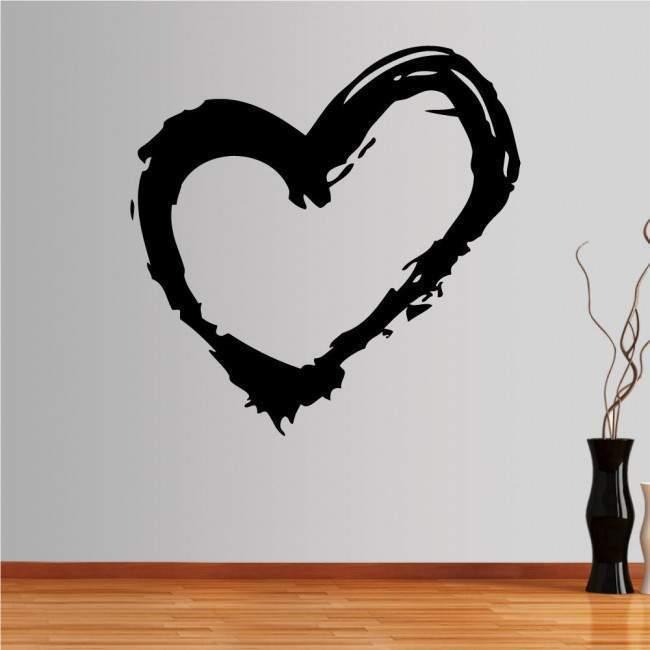Αυτοκόλλητο τοίχου Καρδιά