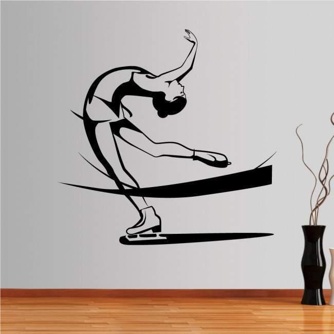 Αυτοκόλλητο τοίχου Καλλιτεχνικό πατινάζ,