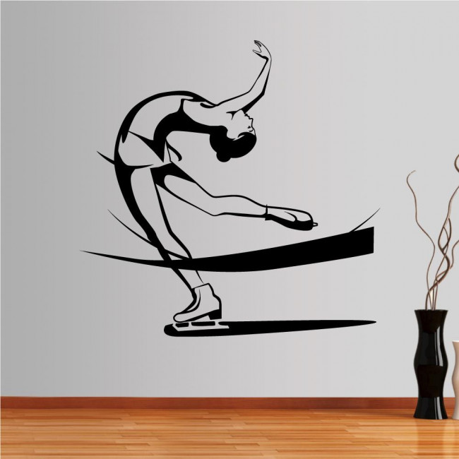 Wall stickers Ice skating