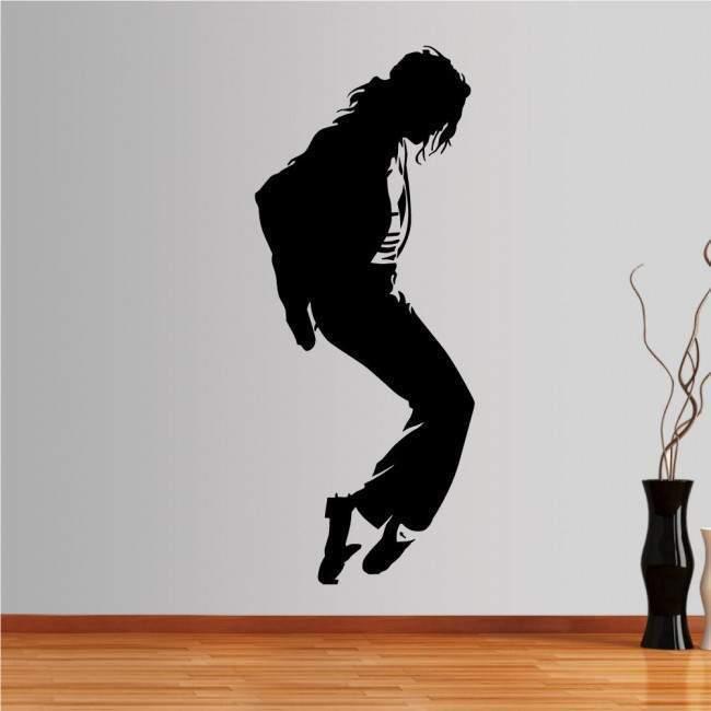Αυτοκόλλητο τοίχου Michael Jackson figure 1