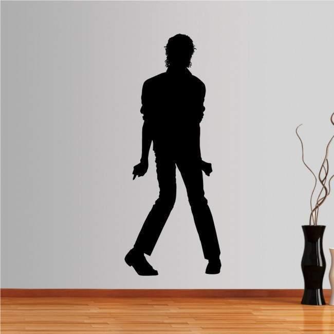 Αυτοκόλλητο τοίχου Michael Jackson figure 3