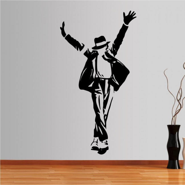 Wall stickers Michael Jackson figure 4
