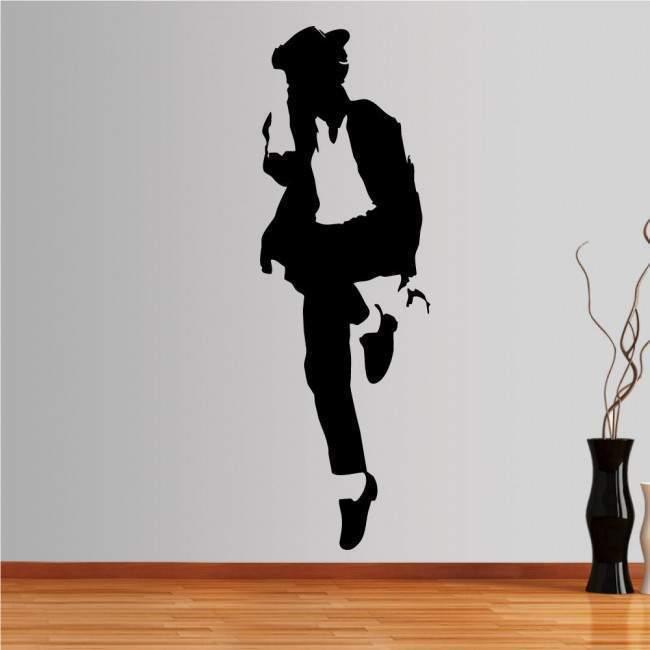 Αυτοκόλλητο τοίχου Michael Jackson figure 5