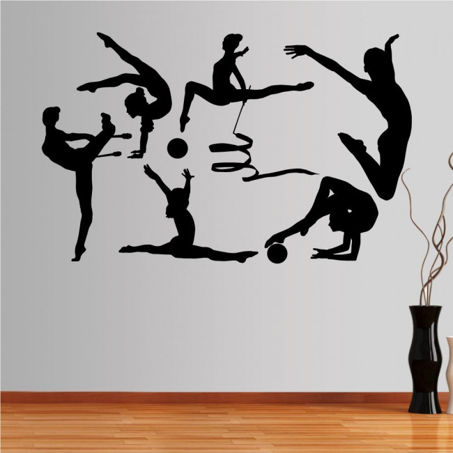 Wall stickers Rhythmic gymnastics