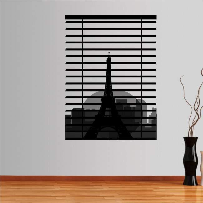 Wall stickers Eiffel Tower, Paris. Overlooking the Seine
