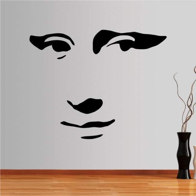 Αυτοκόλλητο τοίχου Mona lisa