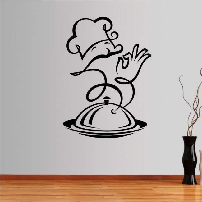Αυτοκόλλητο τοίχου Master chef