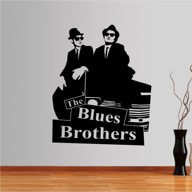 Wall stickers Blues Brothers
