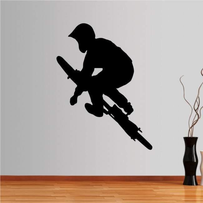 Wall stickers BMX Cyclist