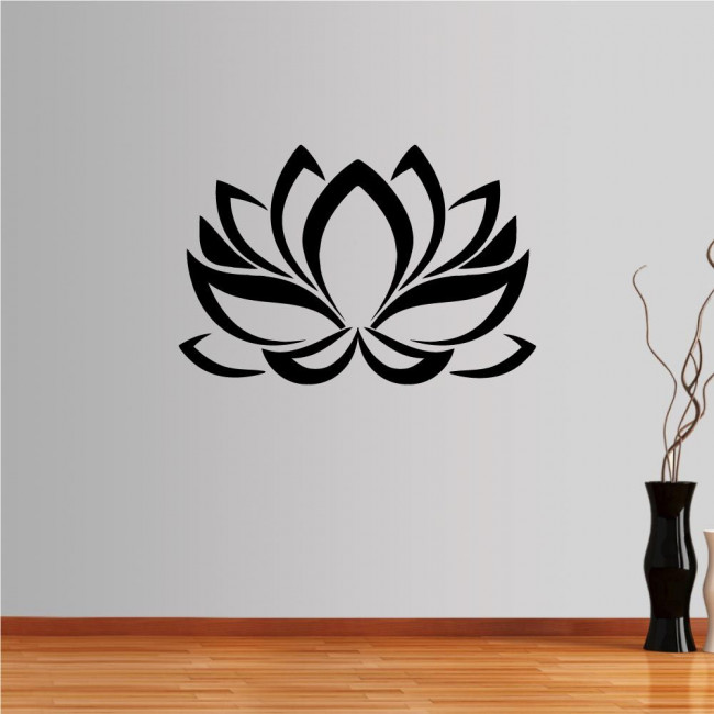 Αυτοκόλλητο τοίχου λωτός, Lotus flower