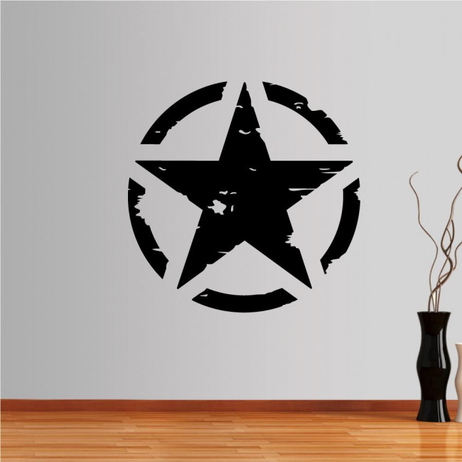 Αυτοκόλλητο τοίχου Αστέρι Army