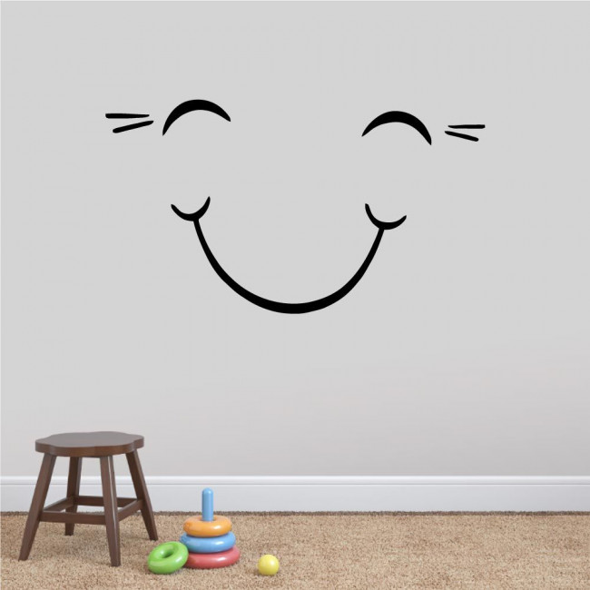 Kids wall stickers Smile