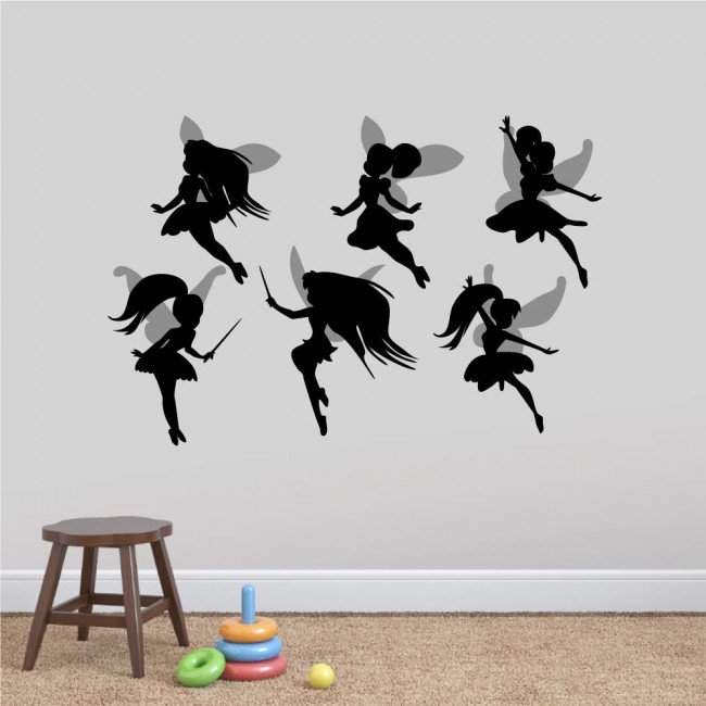 Kids wall stickers Cute Fairies set 2