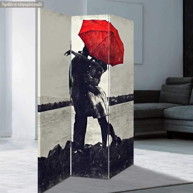 Room divider Romantic love