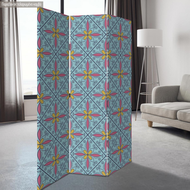 Παραβάν Moroccan pattern