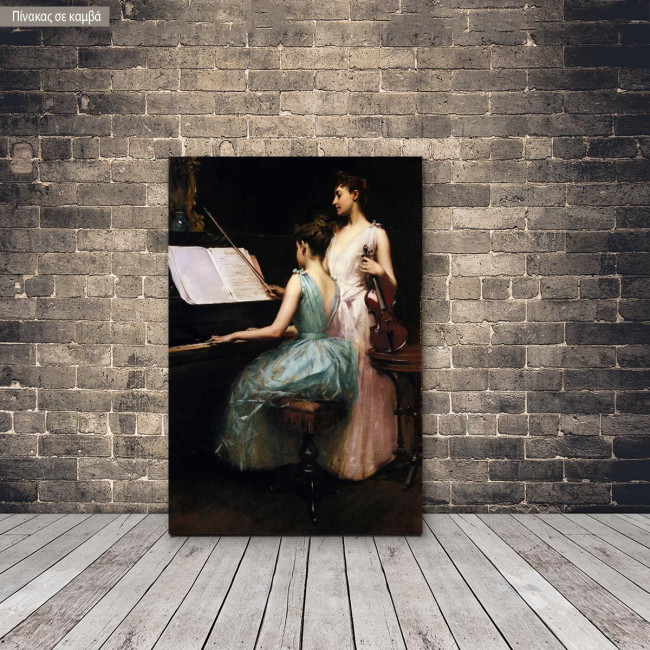 Canvas print The sonata, Ramsay I.
