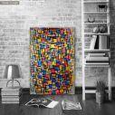 Πίνακας ζωγραφικής  Composition I, Mondrian P, αντίγραφο σε καμβά