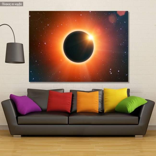 Πίνακας σε καμβά Έκλειψη, Solar eclipse