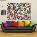 Canvas print Digital collage