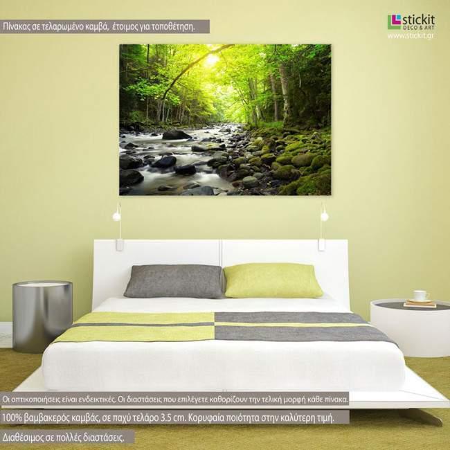 Customized kanvas 70 X 50 canvas print