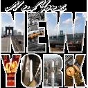 New York , Montage , Αυτοκόλλητο τοίχου