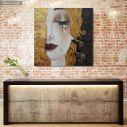 Πίνακας ζωγραφικής Freya's tears, Klimt G, αντίγραφο σε καμβά
