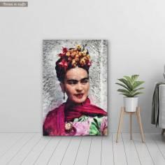 Πίνακας σε καμβά Frida portrait