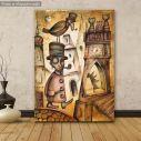 Πίνακας σε καμβά Abstract Victorian man