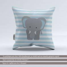 Pillow Animals stripes, Rhinoceros