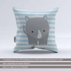Pillow Animals dots, Rhinoceros