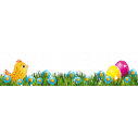 Wall sticker Easter border 5