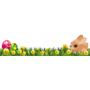 Wall sticker Easter border 6