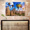 Canvas print, Balloons over Cappadocia
