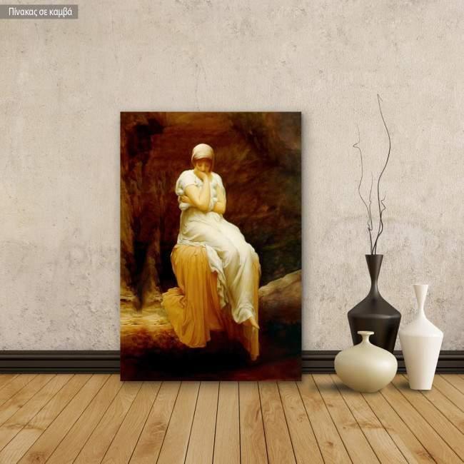 Canvas print Solitude, Leighton Frederic
