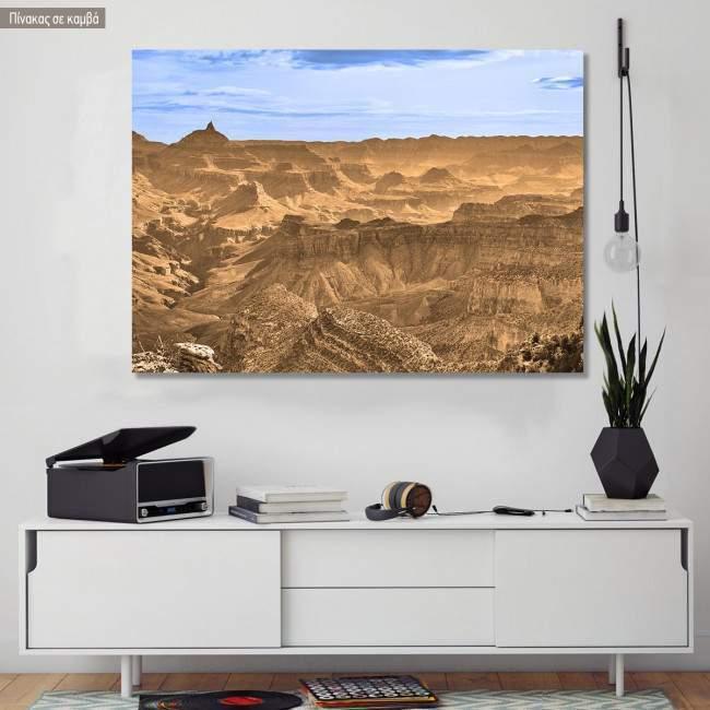 Πίνακας σε καμβά Grand Canyon