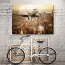 Canvas print Vintage flight