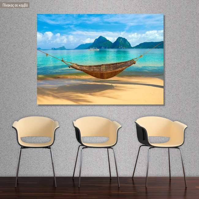 Canvas print , A cool summer