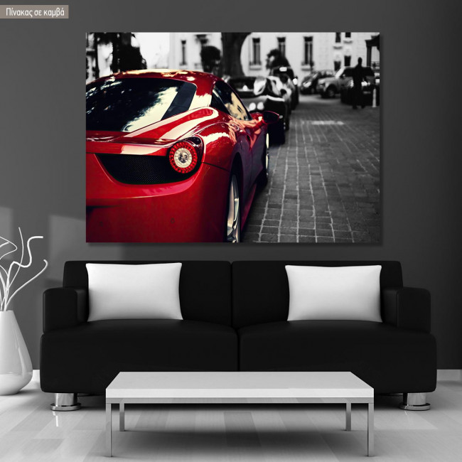 Canvas print Red beauty