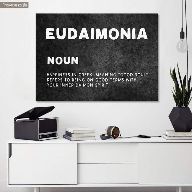 Canvas print Eudemonia