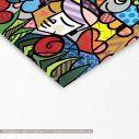 Πίνακας σε καμβά Modern cubism, λεπτομέρεια