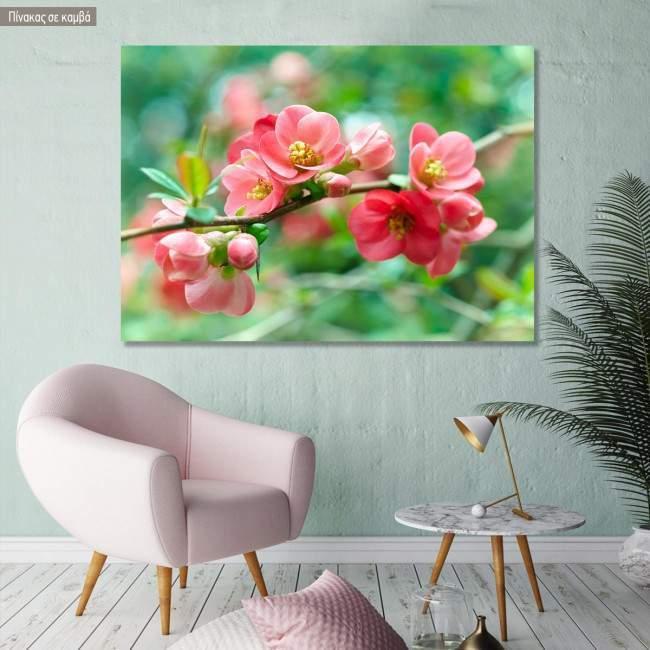 Πίνακας σε καμβά Άνθη άνοιξης, Spring blossoms
