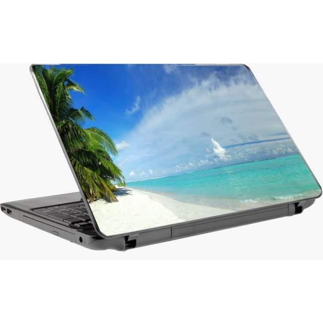 Τροπικός παράδεισος αυτοκόλλητο laptop