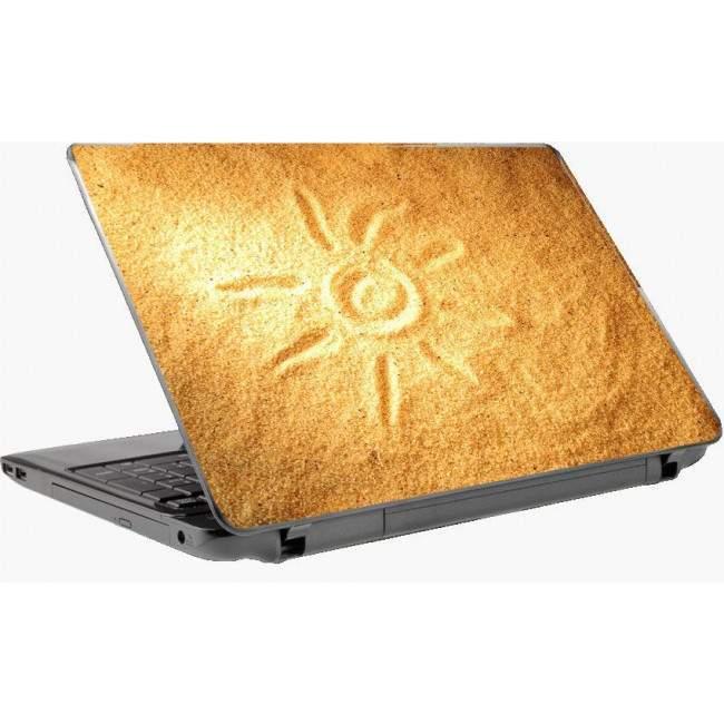 Sun and sand Laptop skin