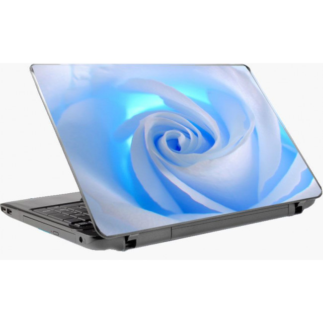 White rose Laptop skin