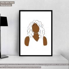 Women portraits VI, κάδρο