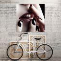 Πίνακας σε καμβά Lips
